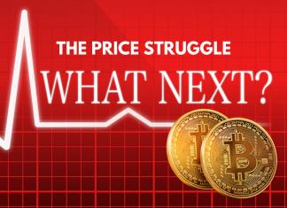 Bitcoin struggles