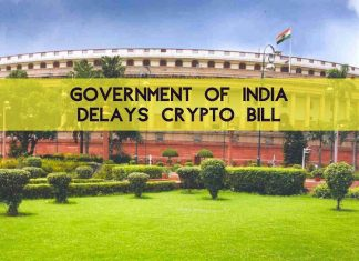 Government of India Delays Cryptocurrency Bill