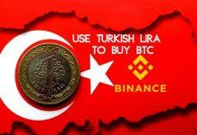 Use Turkey's Lira to Buy BTC on Binance