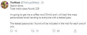 BitMEX passwords leaked