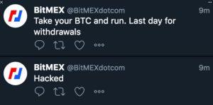 BitMEX Twitter