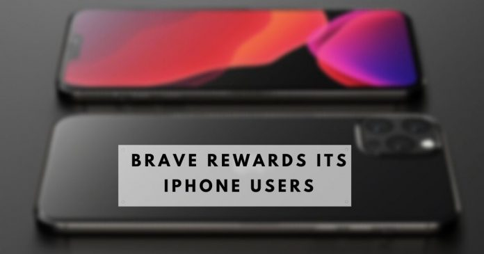 Brave Rewards Its iPhone Users