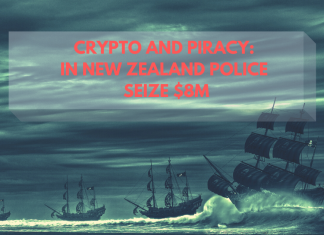 Crypto and Piracy: In New Zealand Police Seize $8M