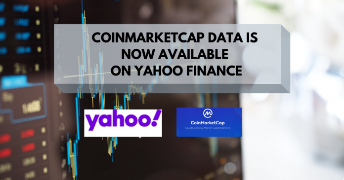 CoinMarketCap Data is Now Available on Yahoo Finance