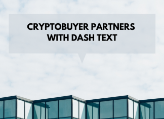 dash text and crypto buyer