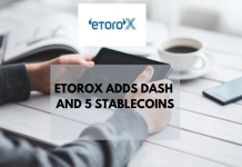 eToroX Adds Dash and Stable coins