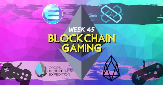 Blockchain Gaming Updates Week 45
