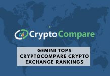 CryptoCompare ranks exchanges