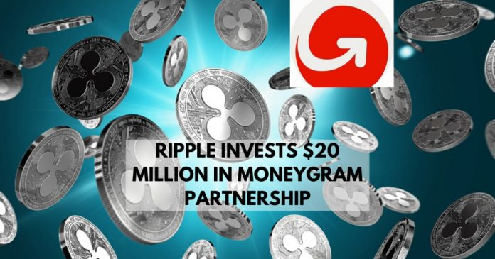 Ripple Invests $20 Million in MoneyGram