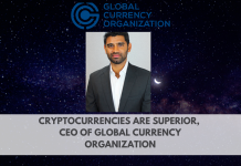 "Cryptocurrencies are Superior."" Exclusive Interview with CEO of the Global Currency Organization"