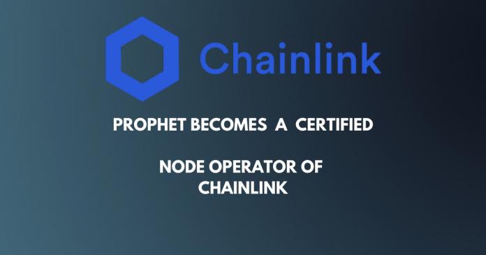 Chainlink Adds Prophet Note Operator