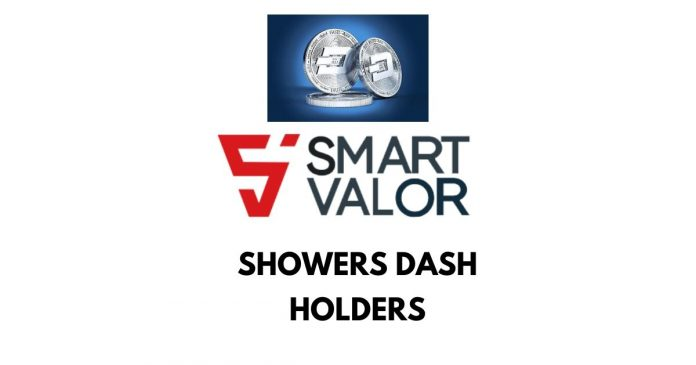 Swiss Exchange, Smart Valor Showers Dash Holders