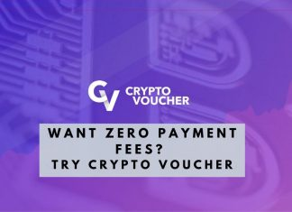 Crypto Voucher and zero fees