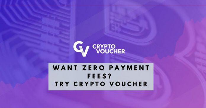 Crypto Voucher and zero fees