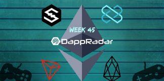 Dapp Data with DappRadar Week 45