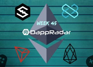 Dapp Data with DappRadar Week 45
