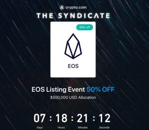 EOS at 50% off