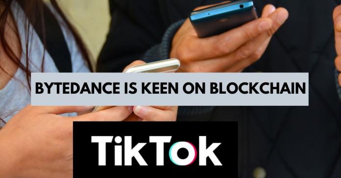 blockchain and tiktok