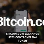 Bitcoin.com Exchange Lists Controversial Token
