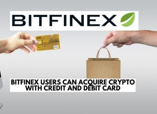 Bitfinex Users Can Acquire Crypto with Credit and Debit Card
