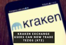 Kraken Exchange Users Can Now Trade Tezos (XTZ)