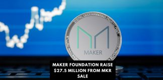 Maker Foundation Raises $27.5 million from MKR Sale