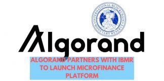 Algorand and IBMR Collaborate to Launch Microfinance Platform