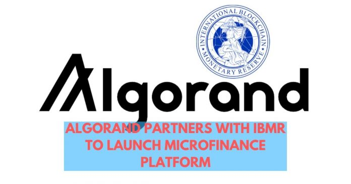 Algorand and IBMR Collaborate to Launch Microfinance Platform