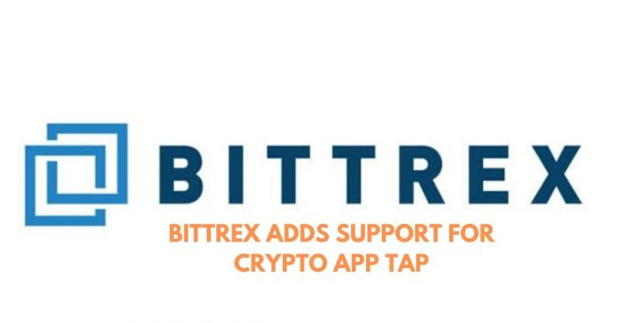 Bittrex Lists Crypto App Tap