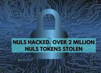 nuls hacked. over 2 million NuLS tokens stolen
