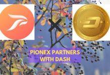 pionex partners with dash