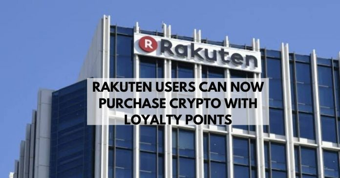 Rakuten Enables Users to Convert Loyalties into Crypto
