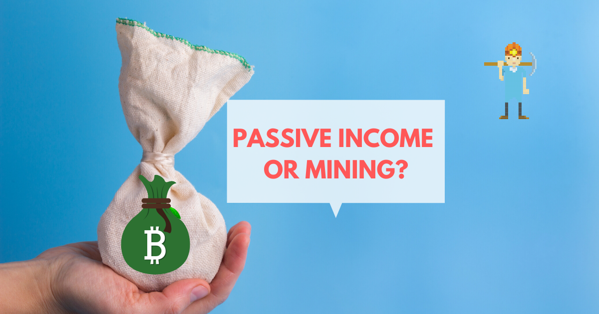 what cryptocurrency gives you the best passive income