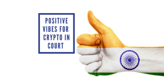 Indian Cryptocurrency Case Turns Optimistic