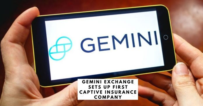 Gemini Exchange Sets Up First Captive Insurance Company