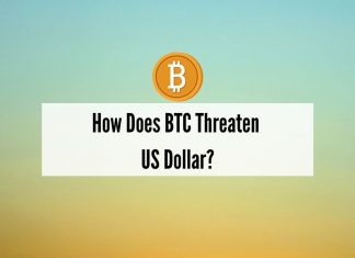 BTC and US Dollar