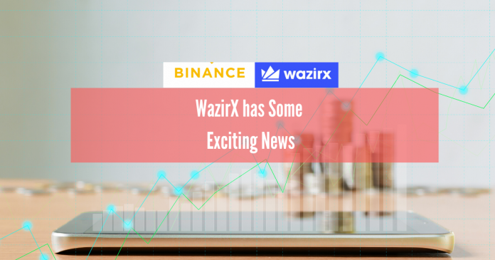 WazirX and Binance