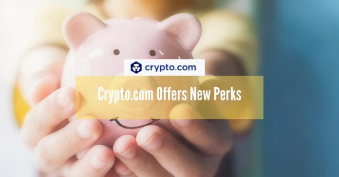 Crypto.com Offers New Perks