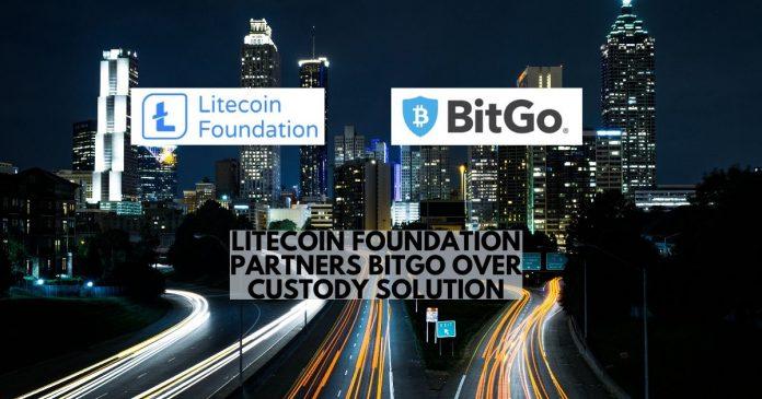 Litecoin Foundation Partners BitGo over Custody Solution