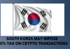 South Korea to Tax Crypto