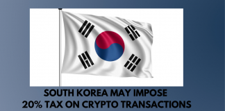 South Korea to Tax Crypto