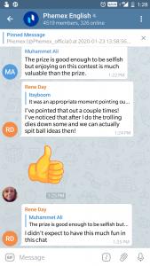 Join Telegarm to win 2.1 BTC