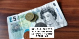 Uphold Crypto Platform Now Supports Pound Sterling