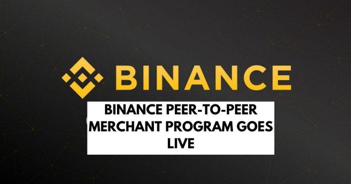 Binance Launches Peer-to-Peer Merchant Program