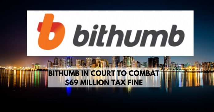 Bithumb in Court To Fight $69 Million Tax Fine