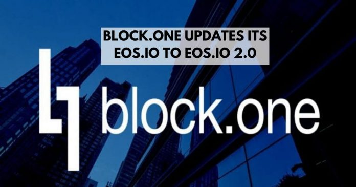 Block.one is Offering an Upgraded Protocol