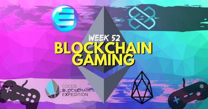 Blockchain Gaming Updates Week 52