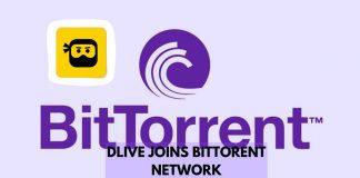 DLive Joins the BitTorrent Ecosystem