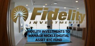 Fidelity Investments to Manage Nickel Digital Asset Bitcoin Funds