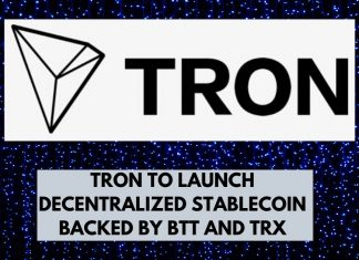Tron to Launch Decentralized Stablecoin